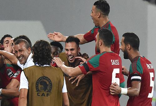 فوز المغرب على الطوغو