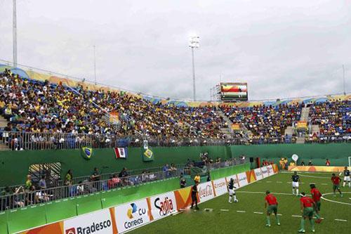 جماهير برازيلية تفشل في التزام الصمت أمام المغرب