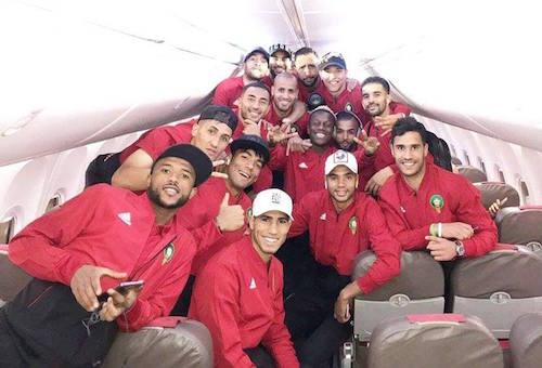 المنتخب المغربي في روسيا