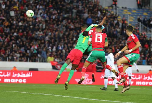 الكعبي يُحرز جائزة أفضل لاعب في مباراة المغرب وغينيا