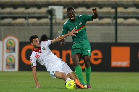 """المنتخب المغربي يضيّع فوزا ثمينا على بوركينا فاسو في """"الشان"""""""