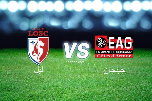 الدوري الفرنسي - الدرجة الأولى : ليل - جينجان