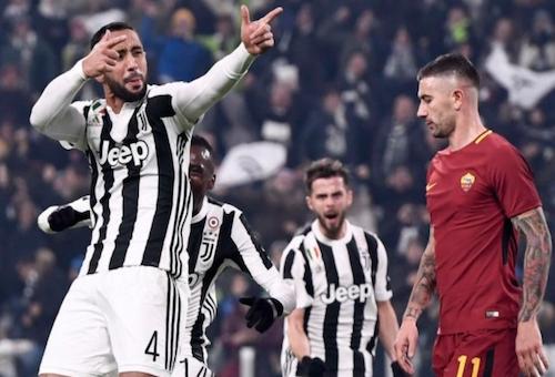 بنعطية يقود يوفنتوس لعبور روما بصعوبة ومطاردة نابولي على صدارة الدوري الإيطالي