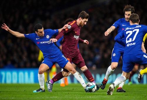 ميسي يقود برشلونة لتحقيق تعادل مثير أمام تشيلسي في دوري أبطال أوروبا
