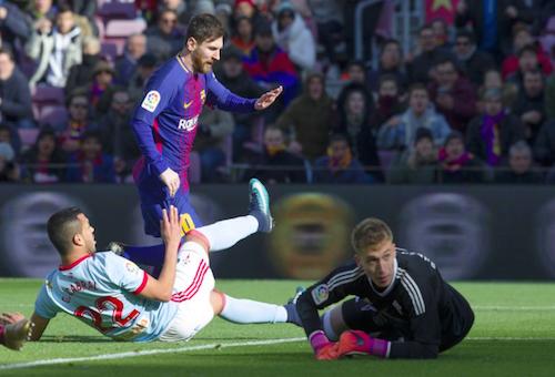 """سيلتا فيغو يحرج برشلونة ويخطف تعادلا ثمينا من ملعب """"كامب نو"""""""
