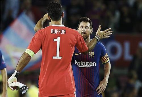 ميسي وديل بوترو وأغويرو يدعمون جينوبيلي في مباراة النجوم