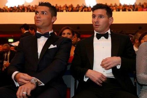 ميسي يتقدم على رونالدو في قائمة الأكثر نفوذا بكرة القدم