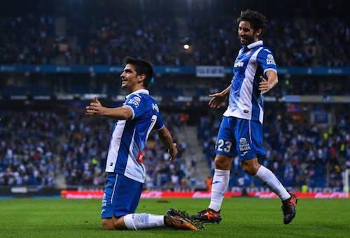 """جيرارد مورينو يقود إسبانيول """"لقتل"""" ريال مدريد بهدف في الدقيقة الأخيرة"""