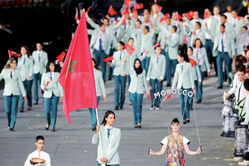 المغاربة المشاركون في الأولمبياد