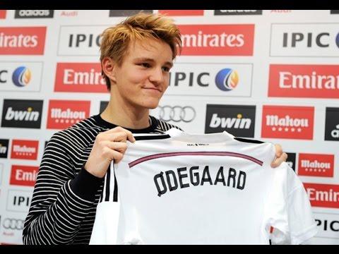 أوديغارد يسجل أول أهدافه مع ريال مدريد