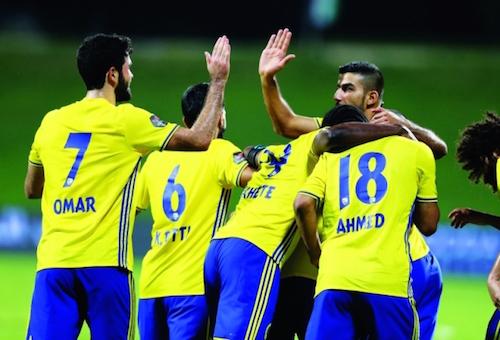 عصام العدوى يسجل ويحرم الوحدة من تصدر الدوري الإماراتي