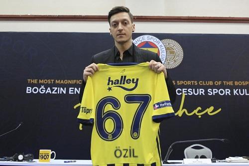 أوزيل: لن أحمل ألوان المنتخب الألماني مجددا