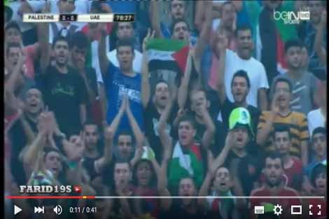 جماهير جزائرية تتضامن مع فلسطين