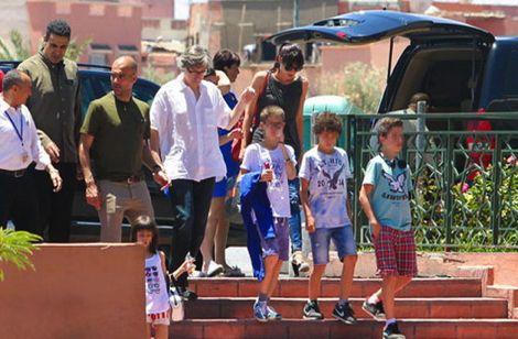 نجُوم كرة القدم العالمية يَسْتَعِدُون للاحتِفَال بالسنَة الجديدة في مراكش