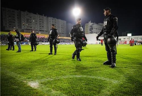 """""""كارثة محتملة"""" تلغي مباراة لبورتو في الدوري البرتغالي"""