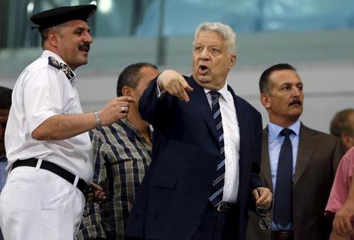 رئيس الزمالك المصري يتهم حكم نهائي دوري أبطال افريقيا بتلقي رشوة لهزم فريقه!