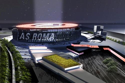 نادي روما يتخلى عن مشروع بناء ملعبه الجديد