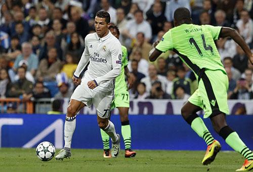 فوز ريال مدريد على لشبونة