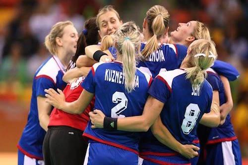 سيدات روسيا يحصدن ذهبية اليد بأولمبياد ريو