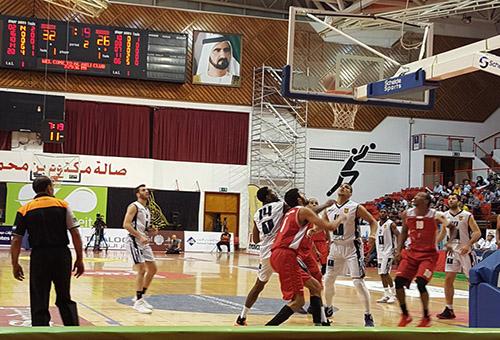 عن البطولة العربية للسلة