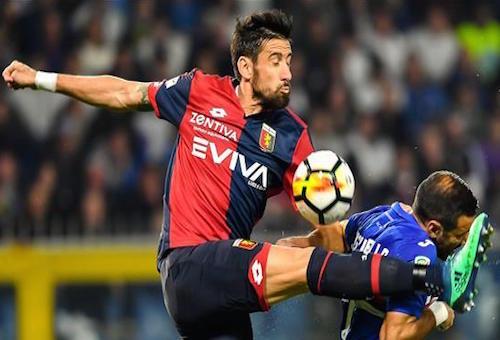 سامبدوريا يتعادل مع جنوى سلبيا في الدوري الإيطالي