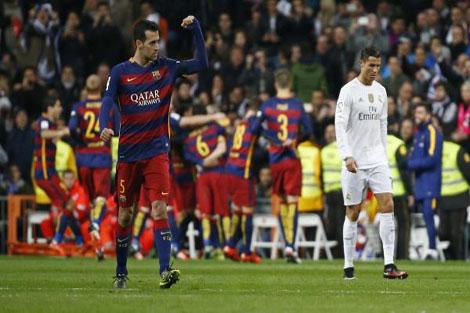 بوسكيتس: وجهنا صفعة قوية لريال مدريد