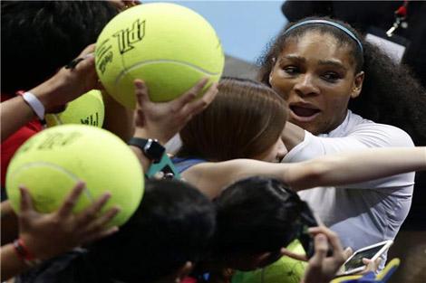 سيرينا ويليامز: لا يمكنني الفوز في كل المباريات