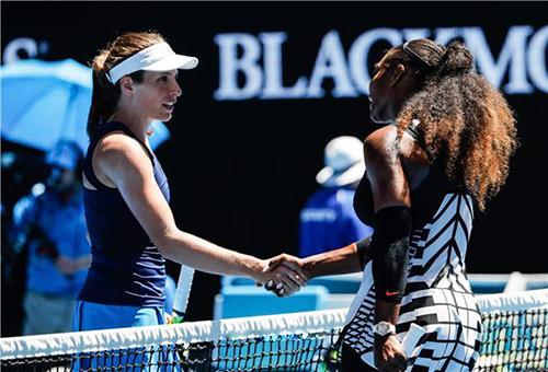 سيرينا: كونتا ستكون بطلة المستقبل في التنس