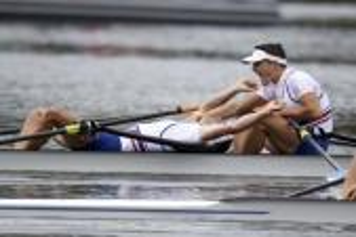 فرنسا تحرز ذهبية القارب الزوجي في منافسات الشراع