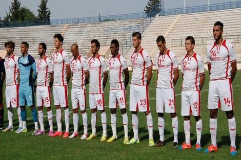 تشكيلة الأولمبي التونسي ضد المغرب