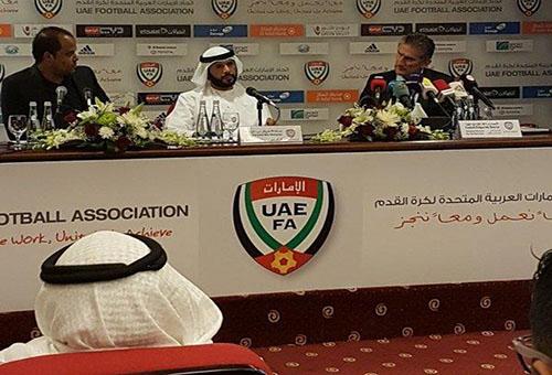المغربي بلحوز ضمن الطاقم الطبي للمنتخب الإماراتي