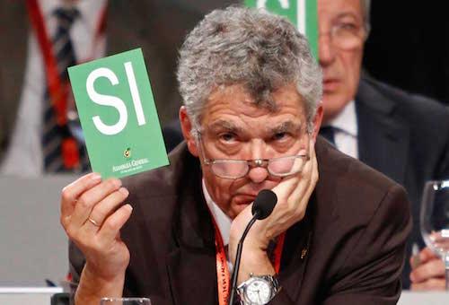 اتحاد الكرة الإسباني يطالب رئيسه المدان بارتكاب جرائم فساد بالاستقالة