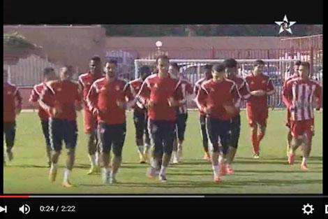 لاعبو الوداد وهزيمة النصر