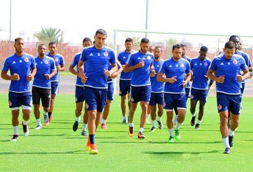 الوِداد يَكتفي بحصّة تدرِيبية في اليوم في مصر وسيعُود إلى المغرِب مُباشرة بعد المباراة