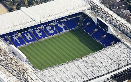 توتنهام يخطط لبناء ملعب جديد