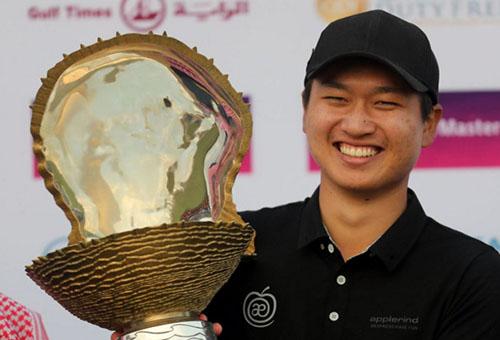وانغ: لا أشعر بالضغط قبل بطولة الحسن الثاني للغولف