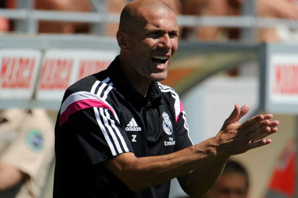 الفوز الأول لزيدان مع ريال كاستيا