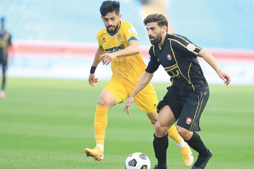محمد فوزير راض عن أداء الرائد رغم الهزيمة