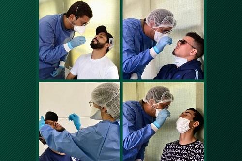 """مسحة طبية جديدة لمكونات الرجاء لتأكيد سلامة الفريق من """"كورونا"""""""