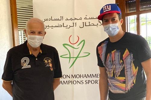 بلمعلم عضوا جديدا بمؤسسة محمد السادس للأبطال