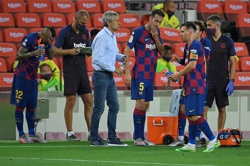 البارصا يفتقد لاعبا أساسيا في مباراة فياريال