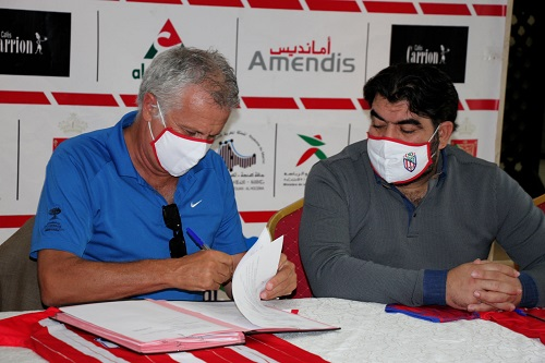 المغرب التطواني يقدم مدربه الجديد زوران