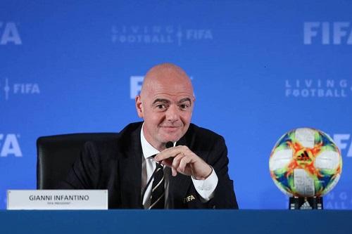 """إنفانتينو: في """"فيفا"""" الجديد لا تختفي الأموال وتذهب إلى الكرة فقط"""