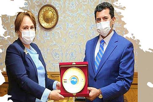 حجيج تتسلم رئاسة كونفدرالية الكرة الطائرة رسميا