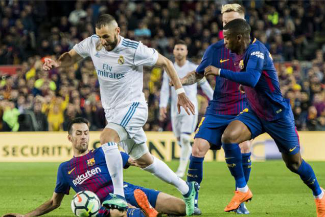 """برشلونة وريال مدريد يرفضان نقل مكان إجراء """"كلاسيكو الأرض"""""""