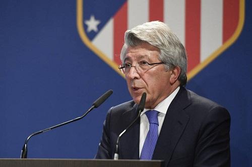 رئيس أتلتيكو: ليفربول فريق عظيم ولكنه هو من سيواجه المشكلة