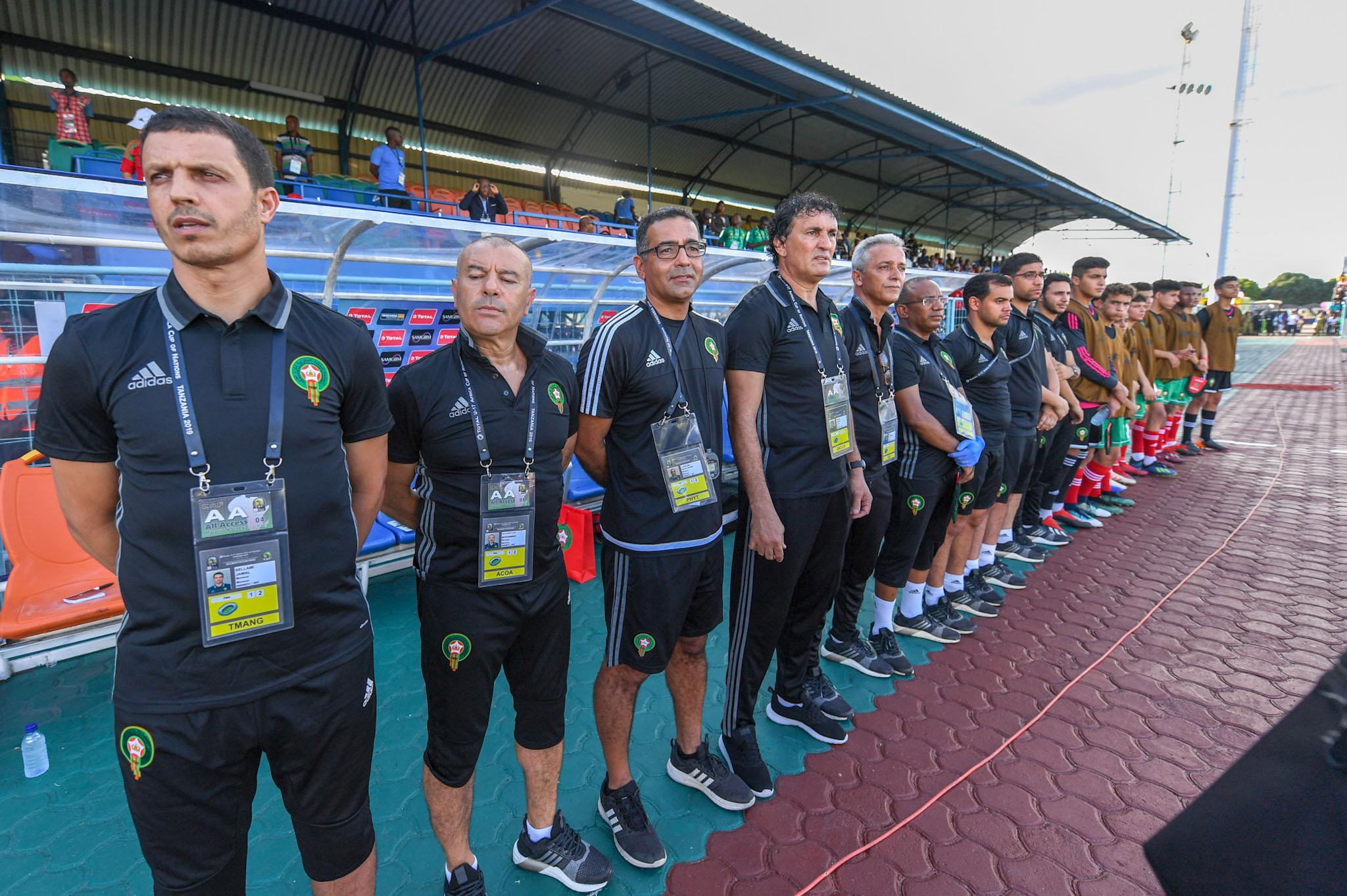 المنتخب المغربي للشبان يفوز على جنوب إفريقيا بالقلم في الألعاب الإفريقية