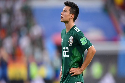 لوزانو يقود هجوم المكسيك أمام الأرجنتين