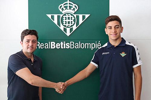 ريال بيتيس يضم المغربي الشاب مزيان من ريال مدريد