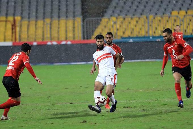 تأجيل مباراة الأهلي والزمالك في الدوري المصري